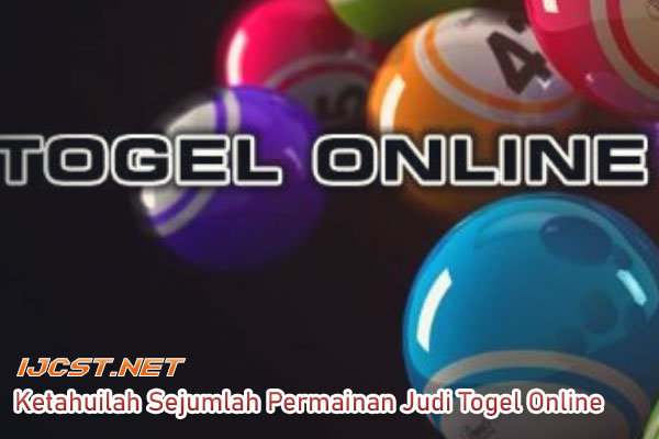 Tips main judi Togel Online